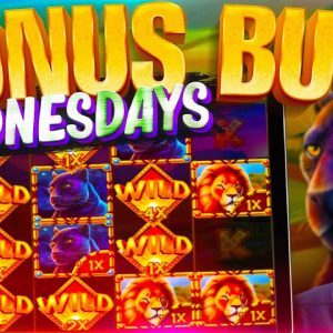 HUGE BONUS BUY WEDNESDAY! 47 Online Slot Bonuses!