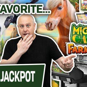 👨🌾 Fan Fave FARMVILLE FORTUNE: Jackpot! 💰 Plus PLENTY More High-Limit Slot Wins