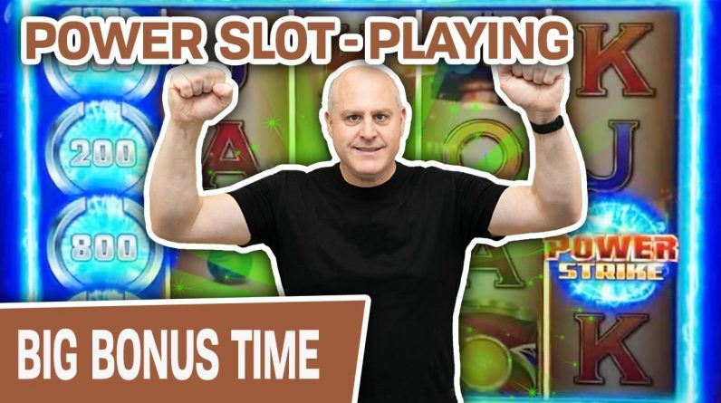 👊 POWER Slot-Playing With POWER Strike 👊 You Do NOT Want to Miss This INCREDIBLE Game