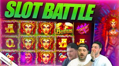 PRAGMATIC SLOT BATTLE! Josh vs Jamie vs Scotty!!