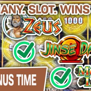 💰 SO. MANY. SLOT. WINS. 💰 High-Limit Money Link, Zeus, Jinse Dao; The WINS DON'T STOP