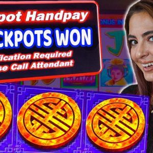MASSIVE Run on Triple Fortune Dragon Slot Machine in Las Vegas! 2 JACKPOTS!