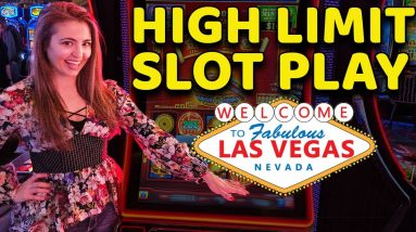 WE PUT $808 INTO A SLOT AT THE COSMO IN VEGAS - LOOK WHAT HAPPENED