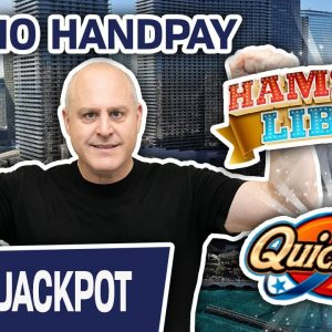 🖐 HANDPAY at The Cosmo! 🎰 Hamster Libre & Quick Hit EXTREME Slot Action