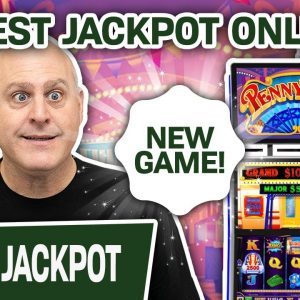 🆕 NEW GAME FOR ME! 🤔 Is This The BIGGEST JACKPOT ONLINE for Penny Pier: Step Right Up?