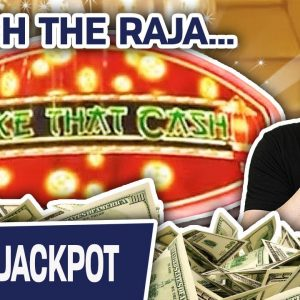 💵 MAKE THAT CASH, Raja! 🎰 High-Limit Slot Machine HANDPAY! The ONLY Way to DO IT