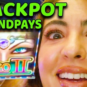 CLEO brought GREAT FORTUNE 2 JACKPOT HANDPAYS in the HIGH LIMIT ROOM at COSMO in VEGAS!
