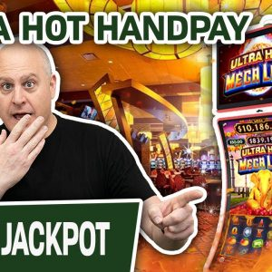 🧯 ULTRA HOT HANDPAY on ULTRA HOT MEGA LINK: India 👳♂ I'm Playing For $60 PER SPIN, BABY