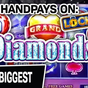 💎 Over $32,000 In High-Limit WINNINGS 🔟 The TEN BIGGEST Lock It Link DIAMONDS Handpays OF MY LIFE