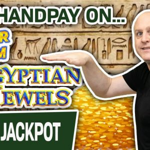 🙌 YES! HANDPAY on Dollar Storm: Egyptian Jewels ➕ Queen of the Nile HIGH-LIMIT SLOTS
