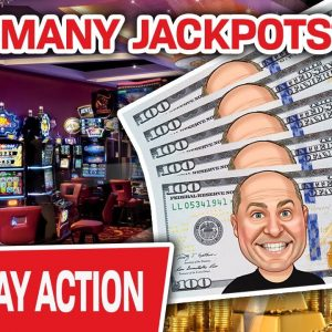 🔴 WOW! Spending a TON of MY MONEY LIVE on SLOTS! 💵 HOW MANY JACKPOTS Will I Hit?