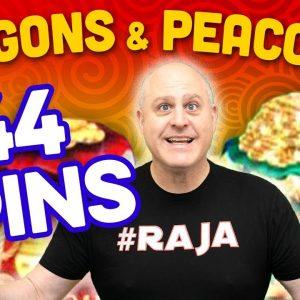 🦚 $44 Max Bet Peacock Fu Dai Lian Lian Boost 🦚 Prosperity Longevity Jackpot Feature!