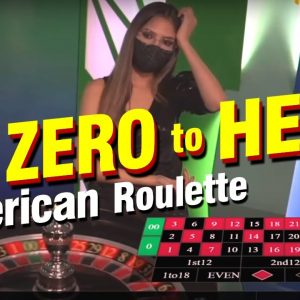 American Roulette Live: From Zero To Hero!