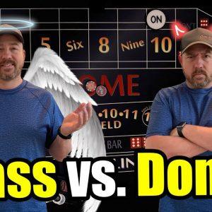 Best way to play Casino Craps? Pass Line vs Don't Pass
