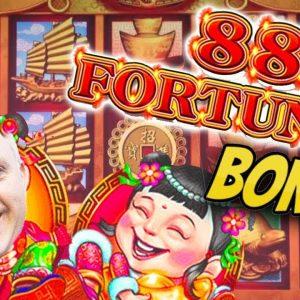 📀 BOOM - $7,700 Jackpot on 88 Fortunes! ⛵ Hugh Bonus Win Playing Max Bet $44 Spins!