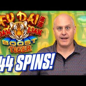 🐲 Fu Dai Lian Lian Dragon Longevity Jackpot 📀 Huge Win During Bonus Free Games!