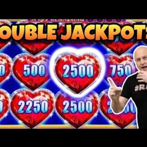 ❤️ Hearts & More Hearts ❤️ 2 Lock It Link Night Life Jackpots on Max Bet!