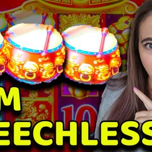 SPEECHLESS after these 3 CRAZY JACKPOTS and BONUS GAMES on DANCING DRUMS!