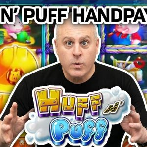 🚧 Warning - Huge $7,000 Huff N Puff Jackpot Ahead 🐷 How Many Gold Bricks Houses Can I Collect?