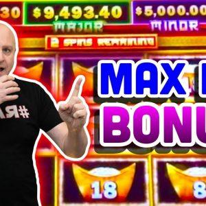💲 High Limit Make That Cash Jackpot Winner! 💲 $90 Max Bet Bonus Feature