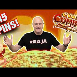 🐭 OMG - Rare Coin Combo Triple Pot Bonus Trigger 🐭$5,000+ Jackpot Win on High Limit Marvelous Mouse!