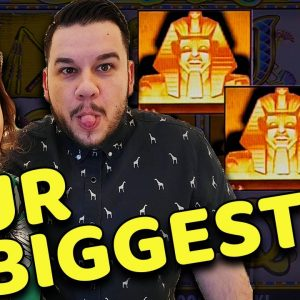 OUR BIGGEST JACKPOT EVER on CLEOPATRA in VEGAS at RESORTS WORLD!