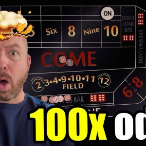 Playing Craps with 100x Odds