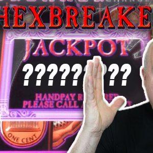 🔎 Max Bet Hexbreaker Money Ladder Bonus Jackpot ☂️ Old School Aristocrat Slots - $78 Bets!