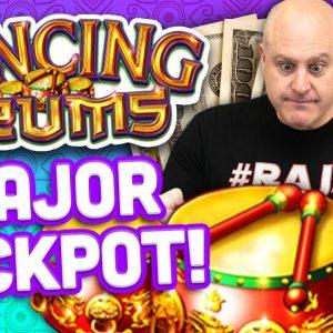 🥁 High Limit Dancing Drums Major Jackpot 🥁 $44 Max Bet Hits Major Progressive Jackpot!