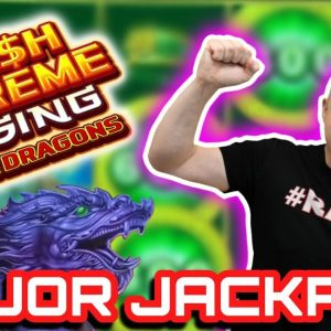 🐉 Double Jackpots - Cash Extreme Rising Dual Dragon 🐉 $60 Bet Hits Maxi, Major & Minor all at Once!