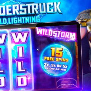 SLOT FOCUS FRIDAY - Thunderstruck Wild Lightning |Stormcraft Studios
