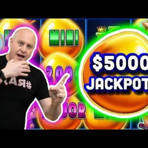 🐱 Huge $5,000+ Jackpot! 🥚 Drop N Lock Sweet Tweet - Amazing Bonus Round on a $50 Max Bet!