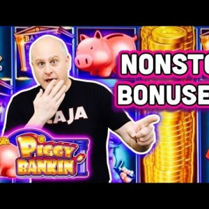 🐷 Nonstop Piggy Bankin Bonuses 🐷 The Piggys Keep Paying with Lock it Link Jackpots!