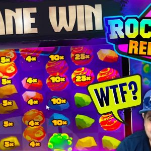 ROCKET REELS RECORD WIN! 🚀 Insane Hit On The New Hacksaw Gaming Online Slot