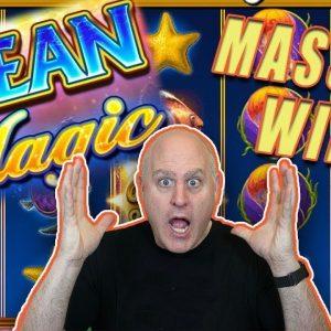 🟡 Big Bubble Wild Jackpots on Ocean Magic Grand 🟡 High Limit IGT Slots!