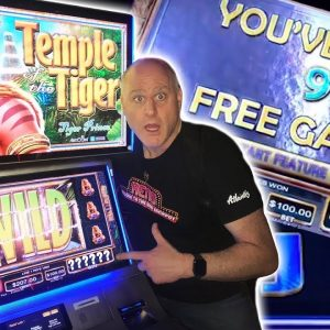 🐅 3 Big Wins on Temple Of The Tiger 🐅 $100 Max Bet Spins Jackpot Bonus Rounds