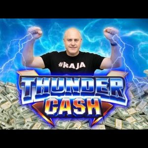 ⚡ Lightning Strikes 3 Times on Thunder Cash ⚡ Free Games Keep Paying on High Limit Ainsworth Slots
