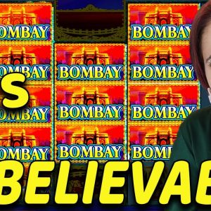 OMG!! Hit My BIGGEST JACKPOT HANDPAY EVER on High Limit Bombay Slot in Vegas!