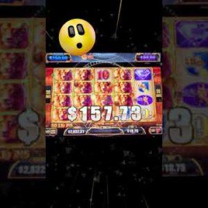 My 1st JACKPOT #HANDPAY on LUXURY LINE Slot Machine in VEGAS! #SHORTS