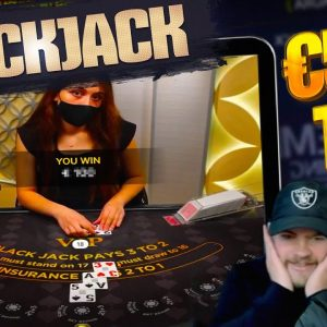 ONLINE BLACKJACK! Crazy ALL IN Session! Bust or Double Up?
