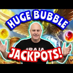 🐬 High Limit Cash Burst Slots - Orb Of Atlantis $50 Bets 🐬 Big Bubble Jackpot Winner!