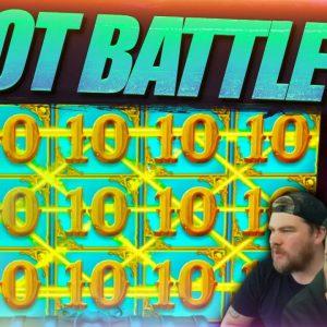 ONLINE SLOTS BATTLE! New Slots 🎰 Microgaming Midweek Bonus Edition!