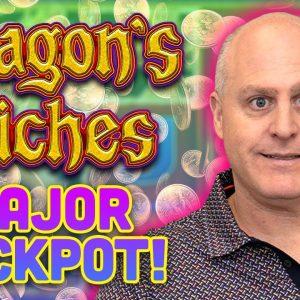 ⚡ Major Jackpot Winner ⚡ The Raja Big Lightning Link Jackpot Win Playing Dragon's Riches!