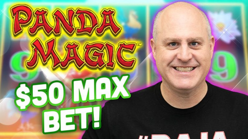 🐼 $50 Max Bet Panda Magic Dragon Link 🐼 How Big Will My Jackpot Win Be?