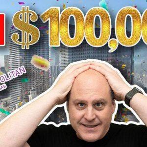 🔴 Massive $100,000 Live Slot Play in Las Vegas 🚀