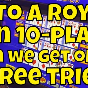 Four-to-the-Royal Draws on 10-Play - How Many Do We Get?