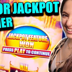 I LAND the MAJOR JACKPOT on a $5/SPIN in VEGAS!