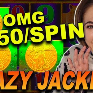 ACCIDENTAL $250/SPIN Lands My BIGGEST JACKPOT HANDPAY EVER on Buffalo Link!