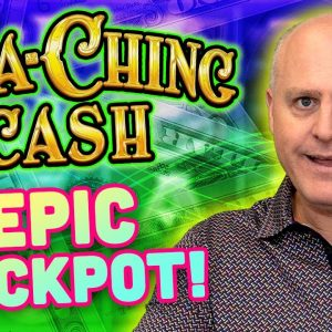 💲 Ca-Ching-Cash Epic Jackpot! 💲 Multiple Progressive Jackpot Wins on Max $15 Spins