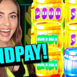 JACKPOT HANDPAY on That's Bananas High Limit Slot Machine in Vegas